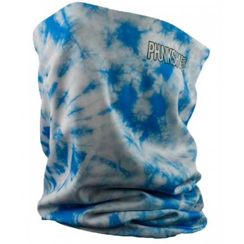 Шарф-труба флисовый Phunkshun DL Thermal Tube Tie Dye Blue 15/16