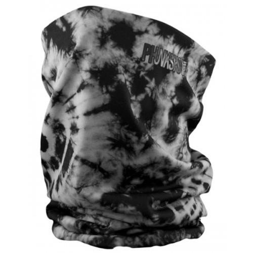 Шарф-труба флисовый Phunkshun DL Thermal Tube Tie Dye Black 15/16