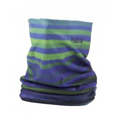 Phunkshun Fleece Tube Stripes Green/Blue 16/17