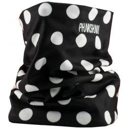 Phunkshun Fleece Tube Dots Black 15/16
