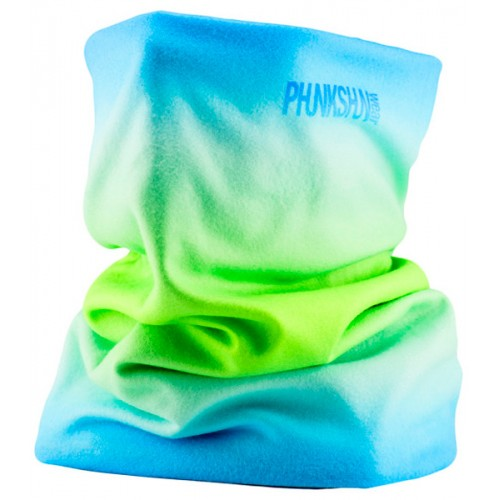 Шарф-труба флисовый Phunkshun Fleece Tube Fade Blue/Green 15/16