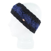 Spacecraft Ella Stripe Headband Black 15/16