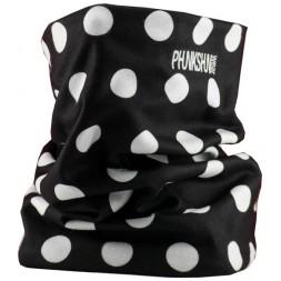 Phunkshun Fleece Tube Dots Black 15/16