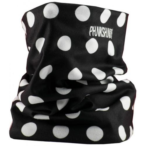 Шарф-труба флисовый Phunkshun Fleece Tube Dots Black 15/16