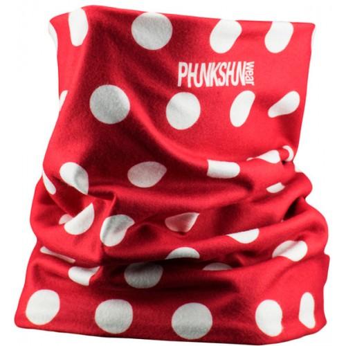 Шарф-труба флисовый Phunkshun Fleece Tube Dots Red 15/16