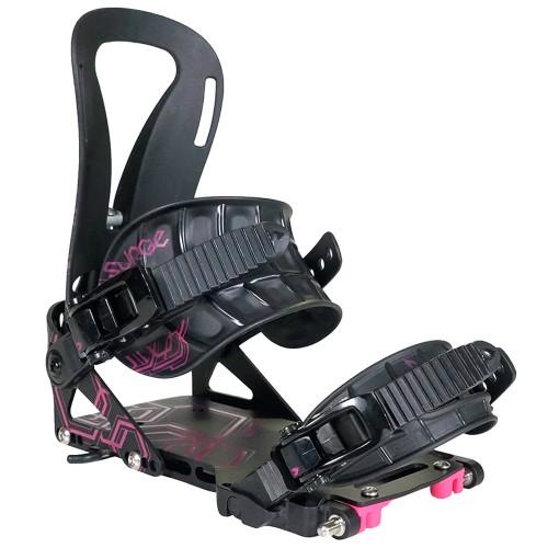 Крепления для сплитборда Spark Women's Surge Black/Pink 21/22