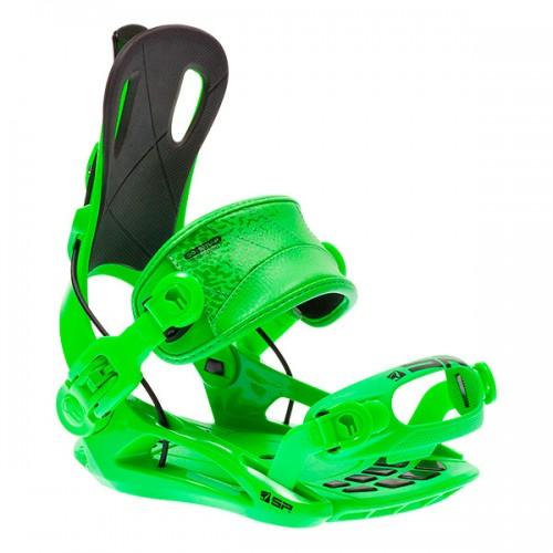 Крепления для сноуборда SP 270 15/16, green