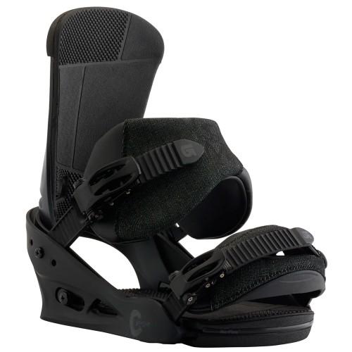 Крепления для сноуборда мужские Burton Custom Black Matte 18/19