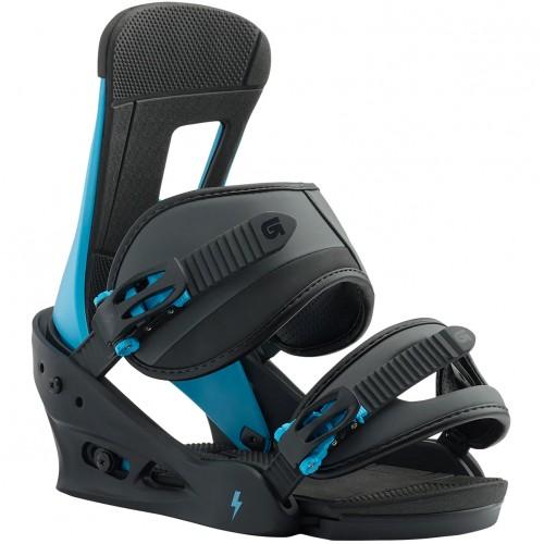 Крепления для сноуборда мужские Burton Freestyle Cobalt Blue 18/19
