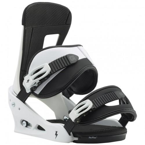 Крепления для сноуборда Burton Freestyle 17/18, white/black