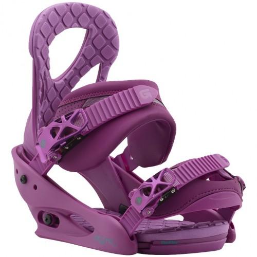 Крепления для сноуборда женские Burton Stiletto 17/18, hot purple