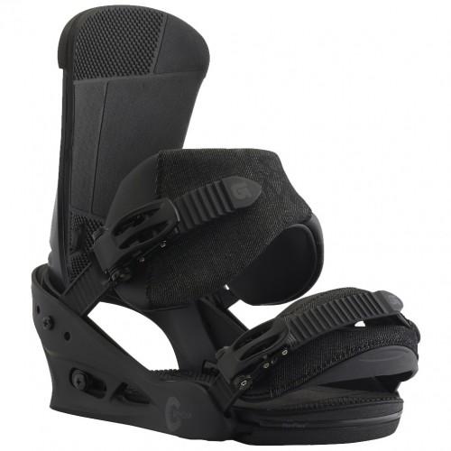 Крепления для сноуборда Burton Custom 17/18, black matte