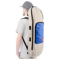 Чехол для скейта Skate Bag Trip Beige/Sky Blue