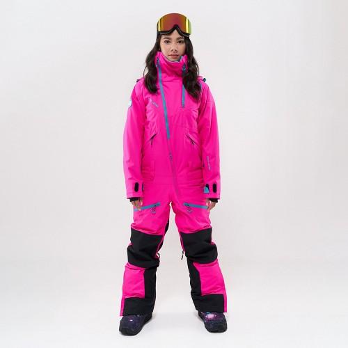 Комбинезон для сноуборда и лыж женский Cool Zone Kite One Color 19/20 цикламеновый