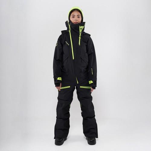 Комбинезон для сноуборда и лыж женский Cool Zone Kite One Color 19/20 черный