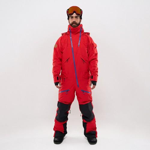 Комбинезон для сноуборда с лыж мужской CoolZone Kite 19/20 красный