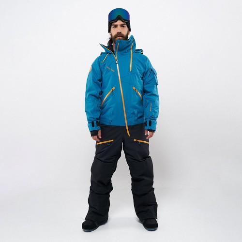 Комбинезон для сноуборда с лыж мужской CoolZone Kite 19/20 морской/черный