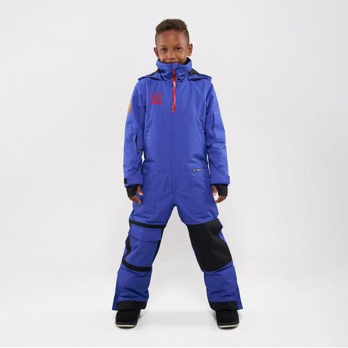 Комбинезон для сноуборда и лыж детский CoolZone Ice Kids 19/20 синий