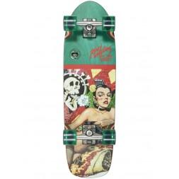 Круизер Dusters Robert Williams Enchiladas De Amore Red/Green 29,5 x 8,75