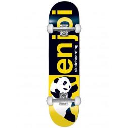 Скейт в сборе Enjoi Half an Half FP Complete Black/Yellow 8.0 х 31.6