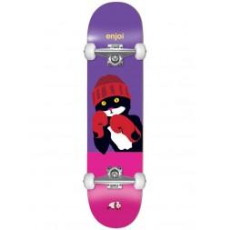 Скейт в сборе Enjoi Catty Pacqmeow FP full size complete Purple/Pink 7,5