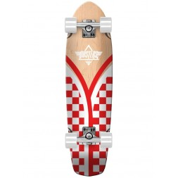 Круизер Dusters Flasback Checker Red/White 29,5 x 8,75