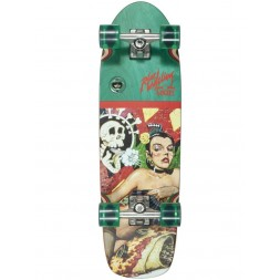 Круизер Dusters Robert Williams Enchiladas De Amore Red/Green 29,5 x 8,75