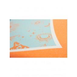 Лонгборд Dusters Cruisin Zodiac Blue/Orange 37 x 8.75