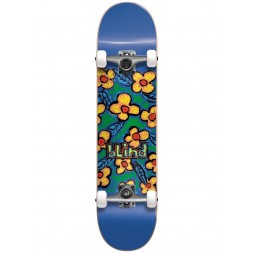 Cкейт в сборе Blind Flowers FP Complete Blue 7,625 x 31,25