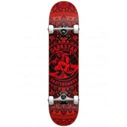 Cкейт в сборе дет Darkstar Magic Carpet Youth Complete Red 7,375