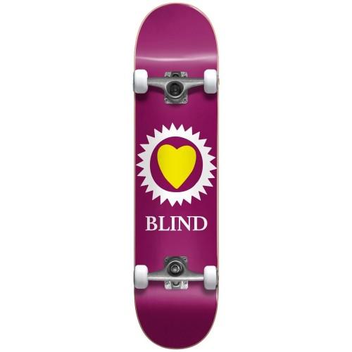 Cкейт в сборе  Blind Heart Youth FP Complete Maroon 7 x 28,95