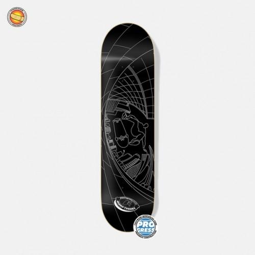 Дека для скейтборда Footwork Progress Tushev Fisheye Black 8.25 х 31.75