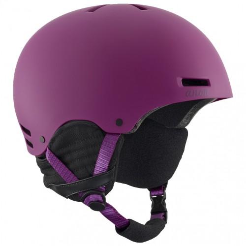 Шлем для сноуборда женский Anon Greta Purple