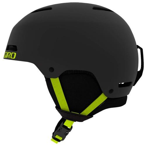 Шлем для сноуборда и лыж Giro Ledge Matte Warm Black/Citron