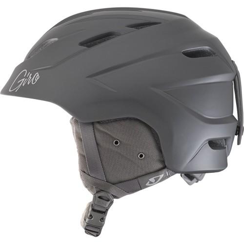 Женский шлем для сноуборда и лыж Giro Decade Matte Titanium 17/18