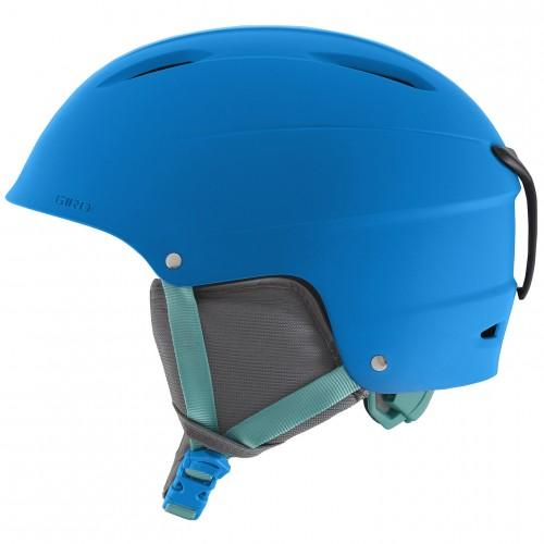Шлем для сноуборда и горных лыж Giro Bevel Matte Blue Jewel 17/18