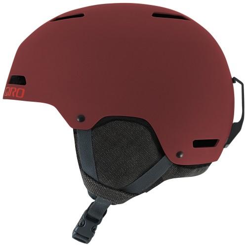 Шлем для сноуборда и лыж Giro Ledge Matte Maroon Mountain Division 17/18