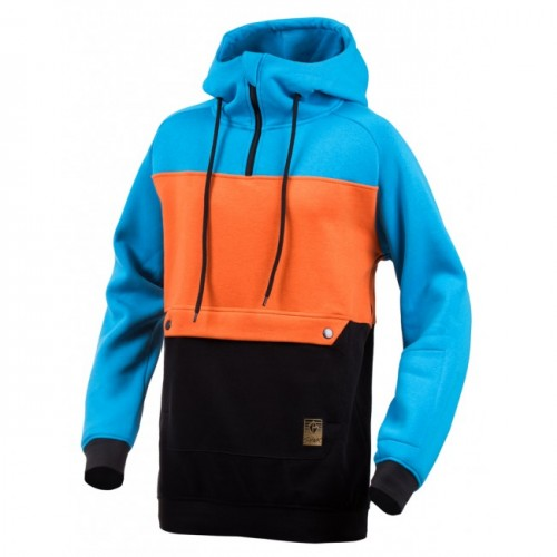 Толстовка удлиненная Shweyka Exception Blue/Orange/Black 17/18