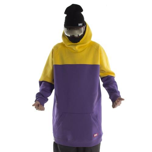 Купить толстовку удлиненная NM4 Homies Ninja Purple/Yellow