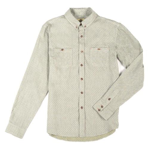 Рубашка Jiberish Cross Stritch 14/15, grey