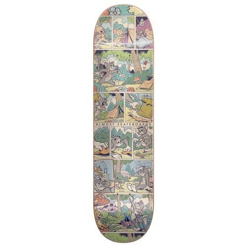 Дека для скейтборда Almost Mullen Comic Strip R7 31.7 x 8