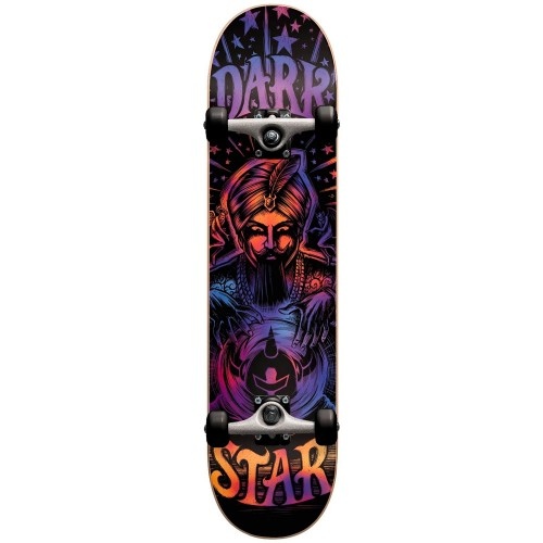Скейтборд в сборе подростковый Darkstar Fortune Youth FP Soft Wheels Purple Mid 7.25