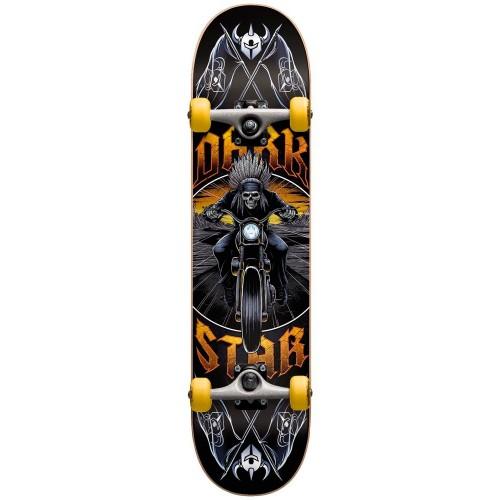 Скейтборд в сборе подростковый Darkstar Roadie Youth FP Yellow Mid 7.375