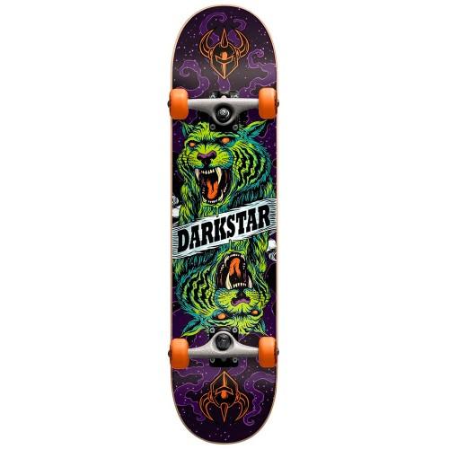 Скейтборд в сборе детский Darkstar Zodiac Youth FP Orange Mic 6.75