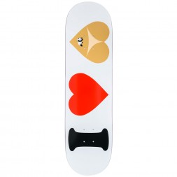 Enjoi I Heart Hearts R7 White 31.7 x 8.375