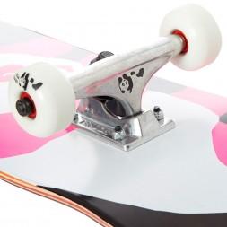 Enjoi Pink Black Panda Resin Black/Pink Ful 7.75