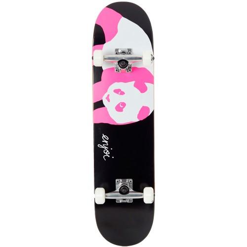 Скейтборд в сборе Enjoi Pink Black Panda Resin Black/Pink Ful 7.75