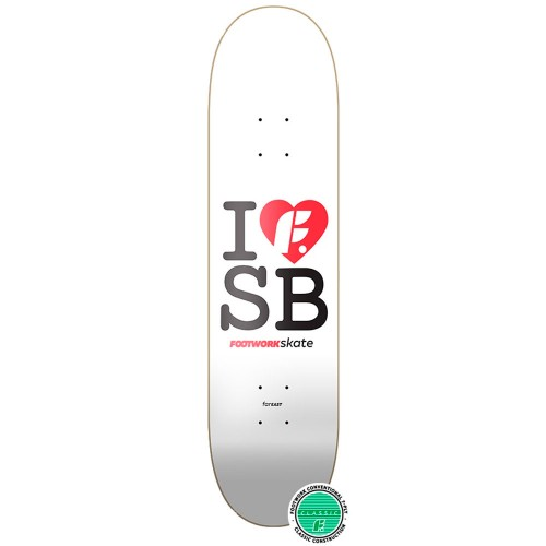 Дека для скейта Footwork Classic I Love F SB 7.75 x 31.2