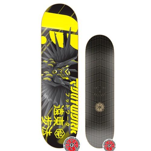 Дека для скейтборда Footwork Carbon Owl Beast 8.375 x 31.75