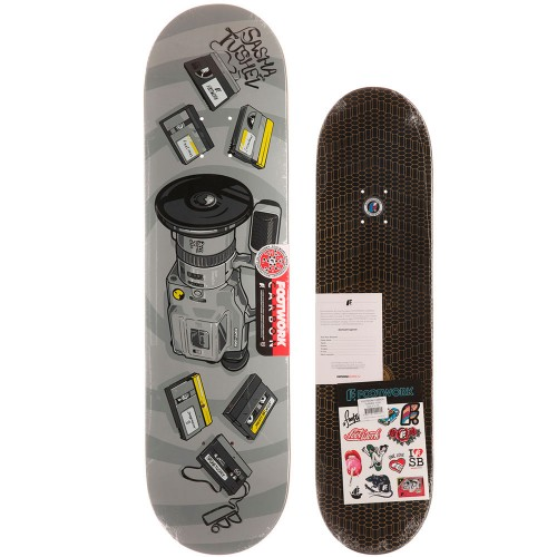 Дека для скейта Footwork Carbon Tushev 1000 8 x 31.5